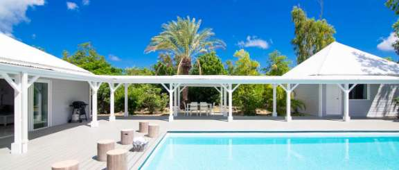 Villa Pool at Villa SXM GRY (Greystone) at Hillside/Terres Basses, St. Martin, Family-Friendly, Pool, 3 Bedroom, 3 Bathroom, WiFi, WIMCO Villas