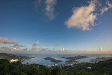 The view from Villa MA OTR (Outrigger) at Charlotte Amalie, St. Thomas, Family-Friendly, Pool, 5 Bedroom, 5.5 Bathroom, WiFi, WIMCO Villas
