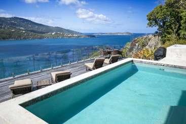 Villa Pool at Villa MA PAL (Pallina) at Magens Bay, St. Thomas, Family-Friendly, Pool, 4 Bedroom, 3.5 Bathroom, WiFi, WIMCO Villas