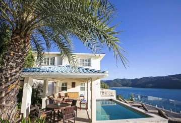Villa Pool at Villa MA PAL (Pallina) at Magens Bay, St. Thomas, Family-Friendly, Pool, 4 Bedroom, 3 Bathroom, WiFi, WIMCO Villas