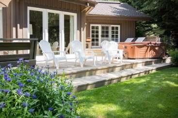 Deck at Villa SNV GRG (Georgina ) at Sun Valley, Sun Valley, Family-Friendly, No Pool, 3 Bedroom, 2.5 Bathroom, WiFi, WIMCO Villas