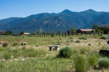 The view from Villa TAO ASH (Arroyo Seco House) at Taos, Taos, Family-Friendly, No Pool, 4 Bedroom, 2 Bathroom, WiFi, WIMCO Villas