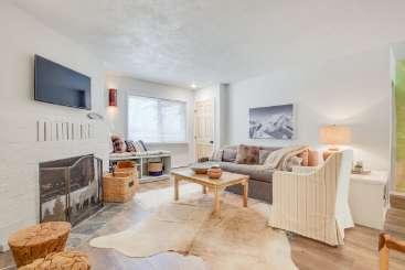 Living Room at Villa TAO RR7 (Riverside Retreat 7) at Taos, Taos, Family-Friendly, No Pool, 4 Bedroom, 3 Bathroom, WiFi, WIMCO Villas