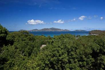 The view from Villa TOR SAD (Sade) at Smugglers Cove, Tortola, Family-Friendly, Pool, 5 Bedroom, 5 Bathroom, WiFi, WIMCO Villas