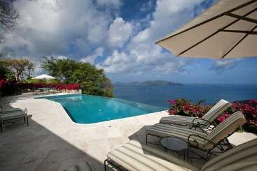 Tortola Villa with Staff St. Bernard's Hill House
