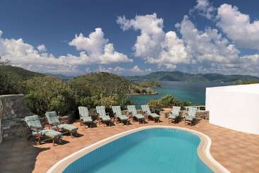 Villa Pool at Villa PTR CRO (Crow's Nest at Peter Island) at Peter Island, Tortola, Family-Friendly, Pool, 4 Bedroom, 4 Bathroom, WiFi, WIMCO Villas