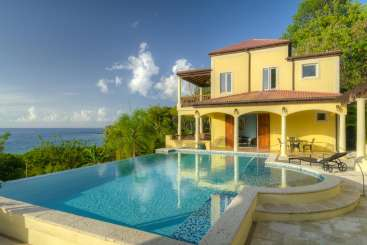 Villa Pool at Villa TOR ARI (Ariana) at Smugglers Cove, Tortola, Family-Friendly, Pool, 4 Bedroom, 4.5 Bathroom, WiFi, WIMCO Villas