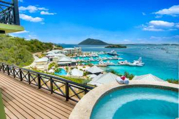 The view from Villa TOR MAR (Mariner House at Scrub Island) at Scrub Island, Tortola, Family-Friendly, Pool, 3 Bedroom, 3 Bathroom, WiFi, WIMCO Villas