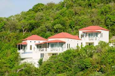 Exterior of Villa TOR MIL (Villa Mila at Scrub Island) at Scrub Island, Tortola, Family-Friendly, Pool, 4 Bedroom, 4 Bathroom, WiFi, WIMCO Villas