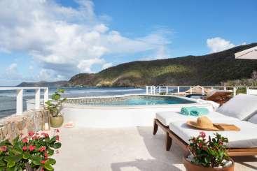 Guana Island Private Island  North Beach Villa on Guana Island