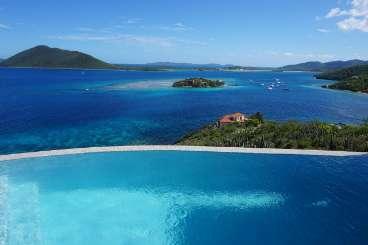 The view from Villa TOR SPN (The Spinnaker House at Scrub Island) at Scrub Island, Tortola, Family-Friendly, Pool, 6 Bedroom, 6 Bathroom, WiFi, WIMCO Villas