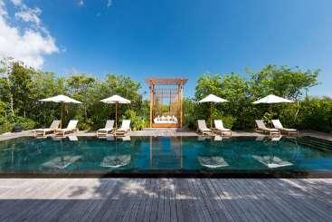 Villa Pool at Villa AMA 4BP (Amanyara Beach 4 BR) at Northwest Point, Turks & Caicos, Family-Friendly, Pool, 4 Bedroom, 4 Bathroom, WiFi, WIMCO Villas