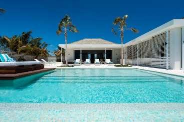 Villa Pool at Villa TNC AGU (Aguaribay) at Long Bay Beach, Turks & Caicos, Family-Friendly, Pool, 5 Bedroom, 5 Bathroom, WiFi, WIMCO Villas