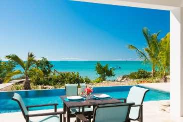 Villa Pool at Villa TNC MV1 (Miami Vice Cottage) at Sapodilla Bay, Turks & Caicos, Pool, 1 Bedroom, 1 Bathroom, WiFi, WIMCO Villas