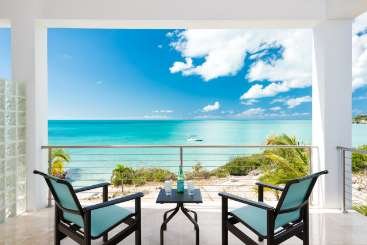 The view from Villa TNC MV2 (Miami Vice) at Sapodilla Bay, Turks & Caicos, Family-Friendly, Pool, 2 Bedroom, 2 Bathroom, WiFi, WIMCO Villas