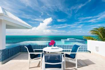 Patio at Villa TNC PLU (Plum Wild) at Grace Bay Turtle Cove, Turks & Caicos, Family-Friendly, Pool, 2 Bedroom, 3 Bathroom, WiFi, WIMCO Villas