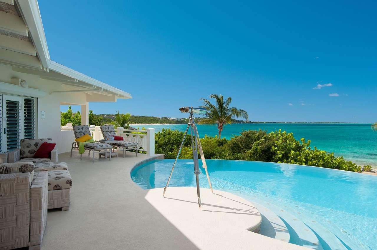 Turtle Beach, Beachfront Villa, Turks and Caicos, TNC TUR