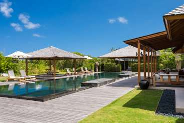 Turks & Caicos Turks and Caicos Family Reunion Villa Amanyara Beach Villa (5 bedrooms)