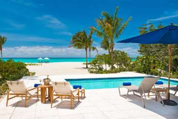Turks & Caicos Turks and Caicos Villa with Staff Beach House at Hawksbill