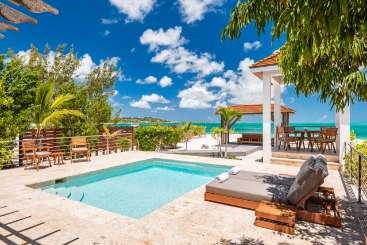 Villa Pool at Villa PL BSK (Beach Shack) at Grace Bay Turtle Cove, Turks & Caicos, Family-Friendly, Pool, 1 Bedroom, 1 Bathroom, WiFi, WIMCO Villas