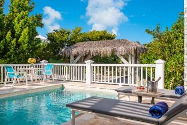 Villa Pool at Villa TNC NUT (Nutmeg Cottage) at Grace Bay Turtle Cove, Turks & Caicos, Pool, 1 Bedroom, 1 Bathroom, WiFi, WIMCO Villas, Available for the Holidays