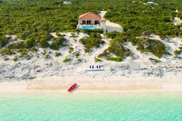 Turks & Caicos Turks and Caicos Beachfront Villa Sandy Beaches