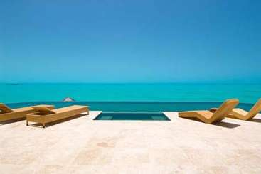 Turks & Caicos Turks and Caicos Incredible Pool at VillaBalinese