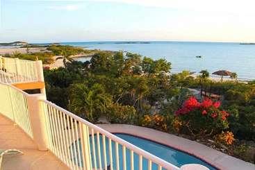 The view from Villa TC TRD (Tropidero) at Turtle Tail, Turks & Caicos, Family-Friendly, Pool, 3 Bedroom, 3.5 Bathroom, WiFi, WIMCO Villas