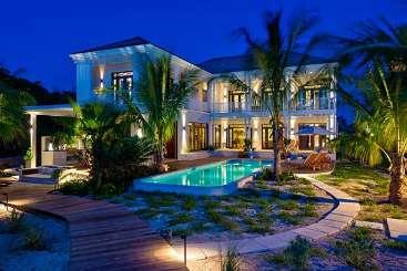 Exterior of Villa PL SAV (Saving Grace) at Grace Bay/Leeward, Turks & Caicos, Family-Friendly, Pool, 4 Bedroom, 3.5 Bathroom, WiFi, WIMCO Villas