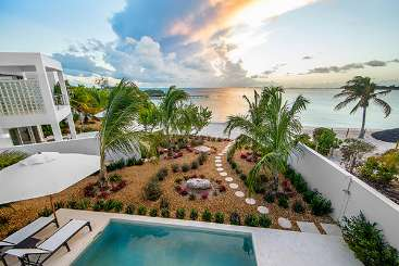 The view from Villa TC AMA (Amalfi) at Sapodilla Bay, Turks & Caicos, Family-Friendly, Pool, 1 Bedroom, 1 Bathroom, WiFi, WIMCO Villas