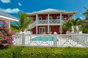 Exterior of Villa TNC GUM (Gumbo) at Grace Bay Turtle Cove, Turks & Caicos, Family-Friendly, Pool, 3 Bedroom, 3 Bathroom, WiFi, WIMCO Villas