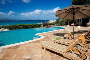 Virgin Gorda Incredible Pool at VillaSol y Sombra