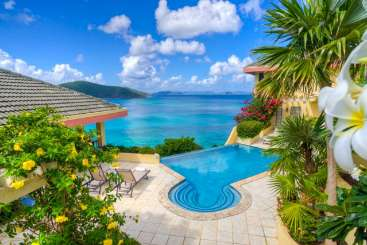 The view from Villa VG DCT (A Dream Come True) at Beachside Mahoe Bay, Virgin Gorda, Family-Friendly, Pool, 5 Bedroom, 6 Bathroom, WiFi, WIMCO Villas