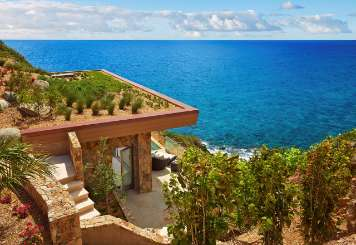 The view from Villa VIJ CLF (Cliff Suite at Oil Nut Bay) at Oil Nut Bay, Virgin Gorda, Family-Friendly, Pool, 1 Bedroom, 1 Bathroom, WiFi, WIMCO Villas