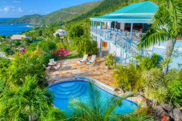 Exterior of Villa VIJ ISP (Island Spice) at Hillside/Nail Bay, Virgin Gorda, Family-Friendly, Pool, 2 Bedroom, 2 Bathroom, WiFi, WIMCO Villas, Available for the Holidays