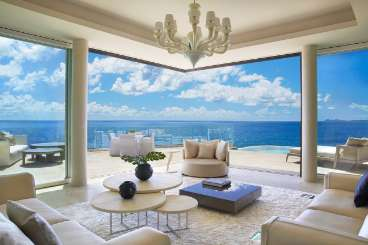 Virgin Gorda Tennis Villa Cliff Penthouse Suite at Oil Nut Bay