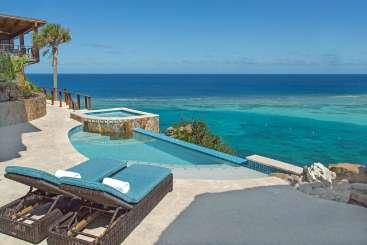Villa Pool at Villa VIJ POP (Poseidon's Perch at Oil Nut Bay) at Oil Nut Bay, Virgin Gorda, Family-Friendly, Pool, 4 Bedroom, 4 Bathroom, WiFi, WIMCO Villas