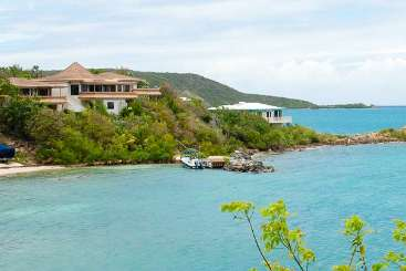 Virgin Gorda Romantic Retreat, Honeymoon Villa Rainbow's End