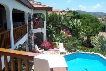 Villa Pool at Villa VG LOB (Loblolly) at Walk/Mahoe Bay, Virgin Gorda, Family-Friendly, Pool, 6 Bedroom, 6.5 Bathroom, WiFi, WIMCO Villas