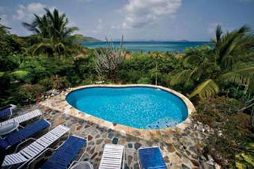 Villa Pool at Villa VG SOL (Del Sole) at Walk/Mahoe Bay, Virgin Gorda, Family-Friendly, Pool, 4 Bedroom, 4 Bathroom, WiFi, WIMCO Villas