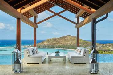 Virgin Gorda Rockstar Retreat, Luxury Villa Waters Edge at Oil Nut Bay