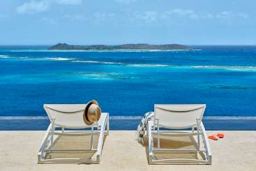 The view from Villa VIJ REE (Reef House at Oil Nut Bay) at Oil Nut Bay, Virgin Gorda, Family-Friendly, Pool, 3 Bedroom, 3 Bathroom, WiFi, WIMCO Villas