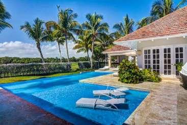 Villa Pool at Villa DR TD1 (Tortuga ) at Punta Cana, Dominican Republic, Family-Friendly, Pool, 5 Bedroom, 5.5 Bathroom, WiFi, WIMCO Villas