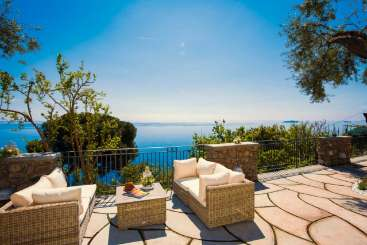 Terrace at Villa BRV AMB (Ambita) at Amalfi Coast, Italy, Family-Friendly, No Pool, 4 Bedroom, 3 Bathroom, WiFi, WIMCO Villas