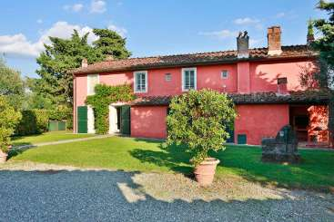 Exterior of Villa SAL VGN (Il Vignale) at Tuscany/Lucca, Italy, Family-Friendly, Pool, 3 Bedroom, 4 Bathroom, WiFi, WIMCO Villas