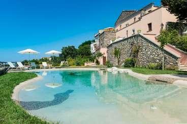 Villa Pool at Villa YPI SOP (Sophia) at Sorrento Coast, Italy, Family-Friendly, Pool, 6 Bedroom, 6 Bathroom, WiFi, WIMCO Villas