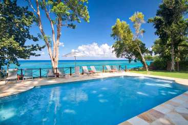 Villa Pool at Villa JAM SOM (Somewhere) at Ocho Rios, Jamaica, Family-Friendly, Pool, 4 Bedroom, 4 Bathroom, WiFi, WIMCO Villas