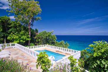 Villa Pool at Villa JAM WAG (Wag Water) at Ocho Rios, Jamaica, Family-Friendly, Pool, 3 Bedroom, 3 Bathroom, WiFi, WIMCO Villas, Available for the Holidays