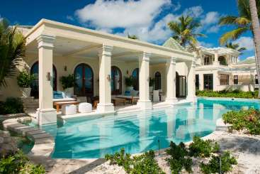 Turks & Caicos All-inclusive Villa with Staff La Dolce Vita at Grace Bay Club