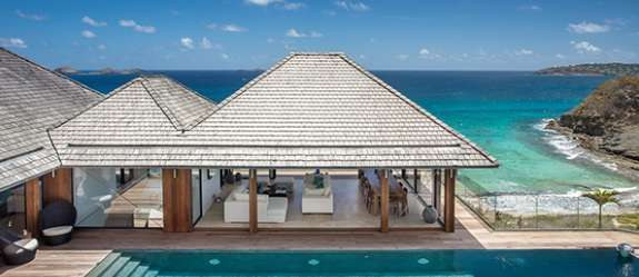 Exterior of Villa WR ANS (ANS) at St. Barthelemy, Anse des Cayes, 7 Bedrooms, 7 Bathrooms, WiFi, WIMCOsbh Real Estate Villas
